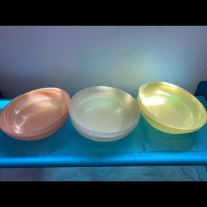 Tupperware Kitchen - Vintage Tupperware bowls seven